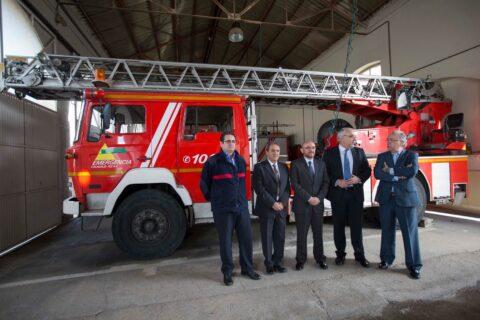 El presidente del Consorcio de Emergencia recibe al Director General de Protección Ciudadana de la Junta de Comunidades
