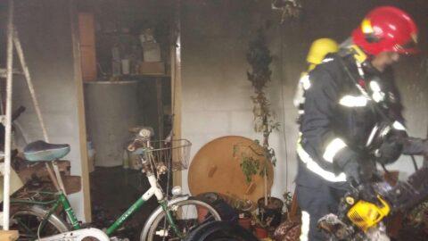 Incendio en un trastero en Campo de Criptana