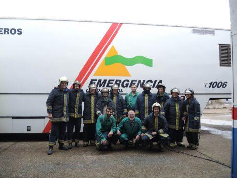 Emergencia Ciudad Real imparte formación a Fertiberia