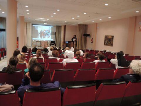 Simulacro en colegio y en Residencia en Ciudad Real