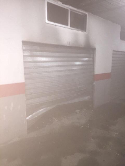 Incendio en un garaje en Almodóvar del Campo, con un joven de 24 años herido grave
