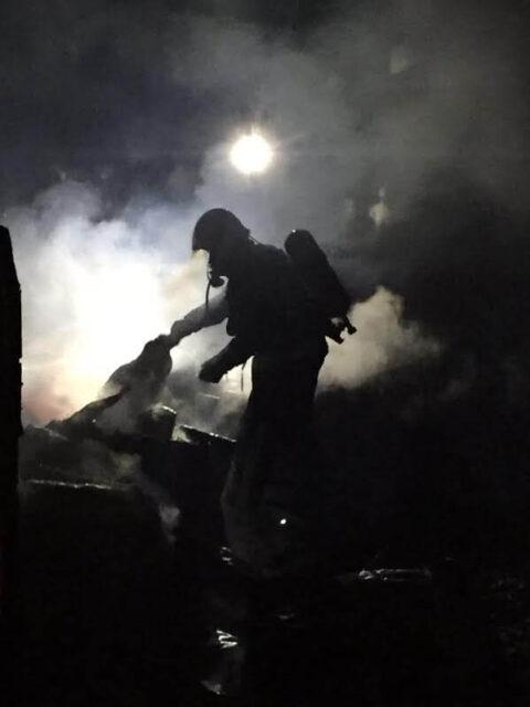 Incendio de vivienda en Mestanza