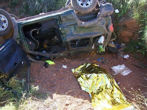 Accidente de tráfico en  Villanueva de los Infantes