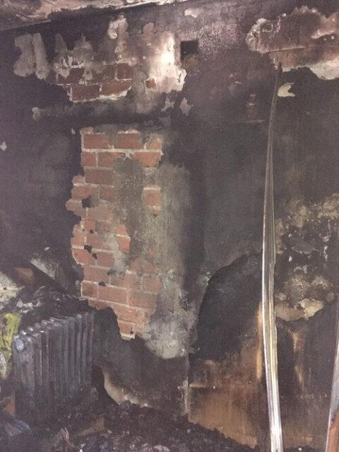 Incendio de vivienda en Miguelturra  con posible explosión