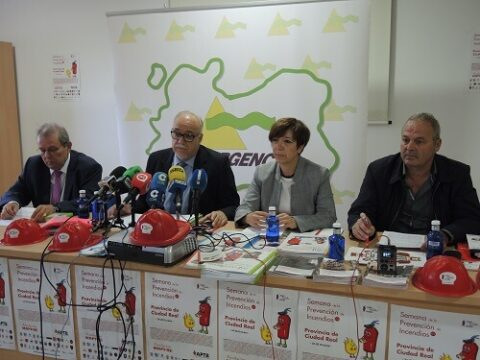 Semana de la Prevención de Incendios del  24 a 29 de Octubre en la provincia de Ciudad Real