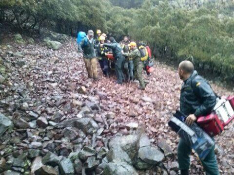 Colaboración y coordinación para el rescate de un cazador en Anchuras