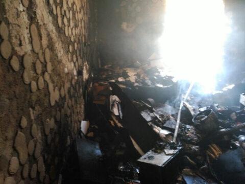 Incendio en Villahermosa de una vivienda con un herido grave y varios incendios de monte y pastos en Ciudad Real y Tomelloso